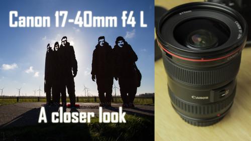 canon 17-40L lens review