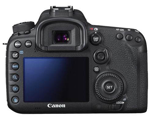 Canon 7d mkii screen